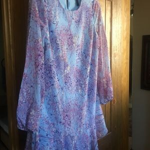 BCBG floral dress!  Never worn.